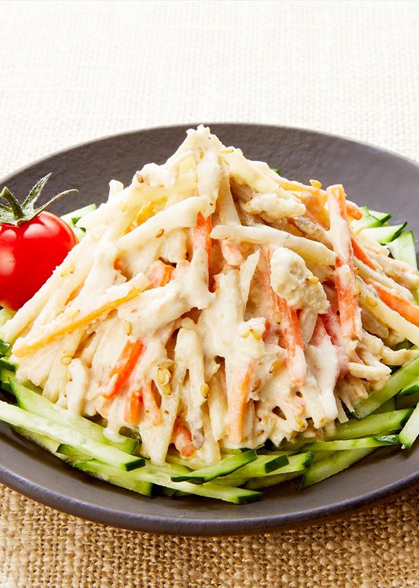 蒸し鶏入り ごぼうサラダ ミニ